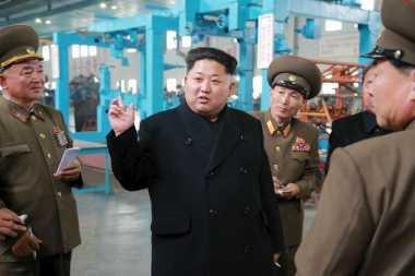 Kim Jong-un Disebut Awasi Uji Coba Senjata Anti-Pesawat Baru Korut