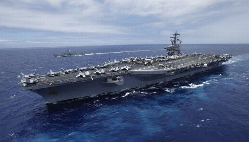 AS Kirimkan Kapal Perang Ketiga ke Semenanjung Korea