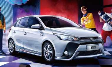 Nih Tampang Toyota Yaris Facelift untuk Pasar China