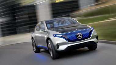 Mercedes Benz Ciptakan Mobil Listrik Pesaing BMW i3