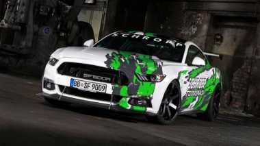 Pasang Supercharger, Ford Mustang Bertenaga 807 Hp