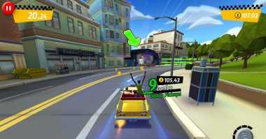 Crazy Taxi 'Original' Akan Hadir Gratis di Smartphone