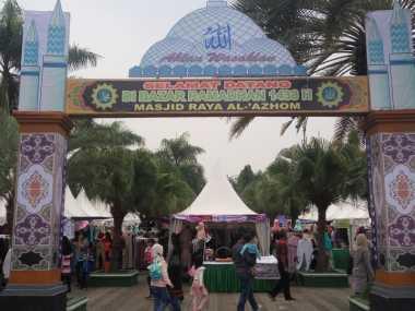 Bazar Ramadan Efektif Ajak Warga Tangerang Datangi Masjid Al-Azhom