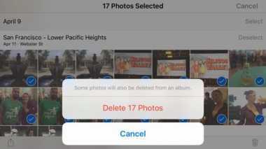 Tips Menghapus Banyak Foto Sekaligus di iPhone
