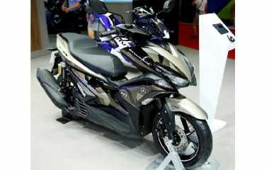 Edisi Terbatas Yamaha Aerox 155 Diberi Julukan Camo