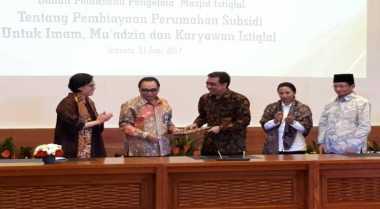 Alhamdulillah, Imam hingga Karyawan Masjid Istiqlal Dapat KPR Subsidi iB