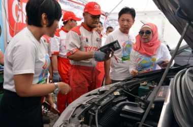 298 Titik Layanan Servis Bantu Pemudik Pengguna Mobil Toyota
