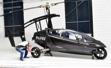 Mobil Terbang Seharga Rp7 Miliar Ini Siap Mengudara