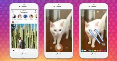 Stories Snapchat Dikalahkan oleh Jiplakannya di Instagram