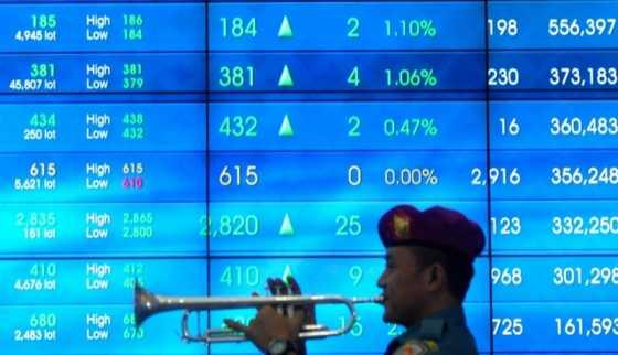 Hari Terakhir Jelang Lebaran, IHSG Kembali Cetak Rekor di 5.829