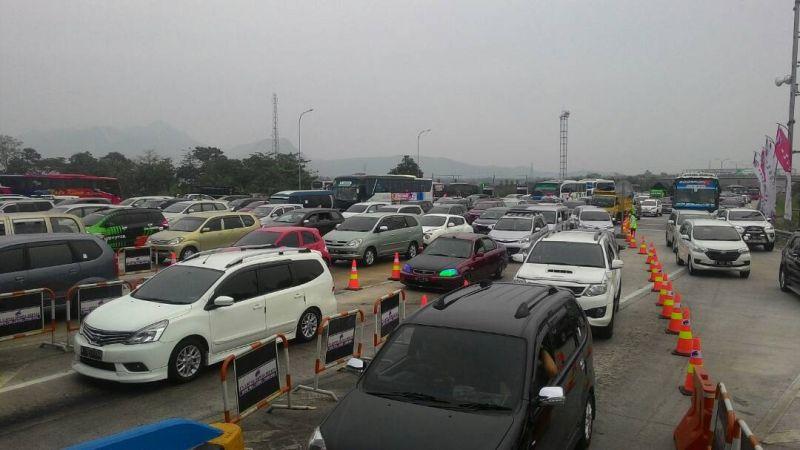 Malam Ini, 90 Ribu Kendaraan Diprediksi Melintas di Tol Cipali