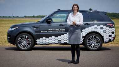 Jaguar Land Rover Jajal Range Rover yang Bisa Nyetir Sendiri