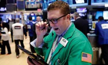 \Wall Street Flat, Saham Kesehatan Kembali Cetak Rekor \
