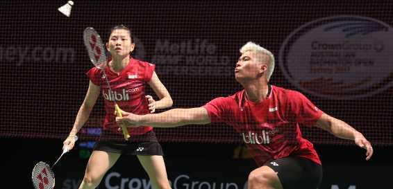 Hadapi Pasangan Anyar Malaysia di Perempatfinal Australia Open 2017, Praveen/Debby Enggan Anggap Remeh