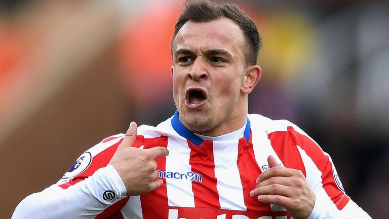 Owner Stoke City Sebut Xherdan Shaqiri Tak Dijual, AS Roma Gigit Jari?
