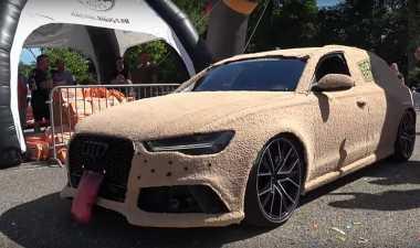 Unik, Sekujur Bodi Audi RS6 Dibalut Bulu Terinspirasi oleh Mutt Cutts