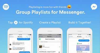Kini Spotify Hadir di Facebook Messenger