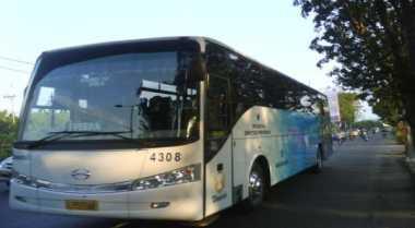 \H+3 Lebaran, Damri Kenakan Tarif Bus Batas Atas\