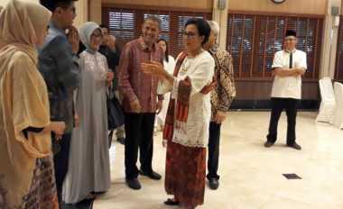 \Setelah Open House, Sri Mulyani Langsung Mudik ke Semarang   \