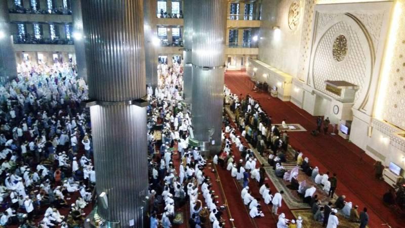 Dibawakan Quraish Shihab, Khutbah Salat Id di Masjid Istiqlal Ajak Masyarakat Cinta Tanah Air
