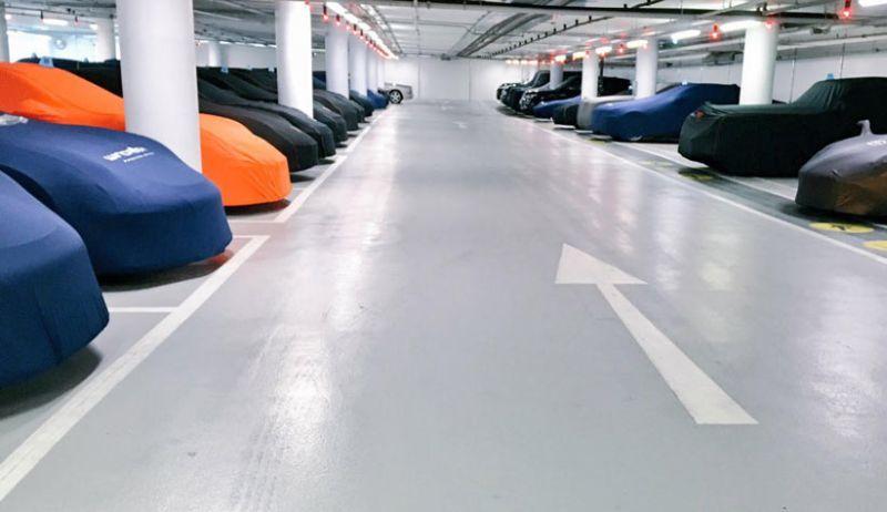 Ini Tempat Parkir Khusus Mobil Eksotis, Berapa Biayanya?