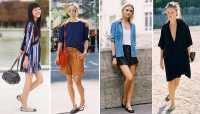 Simpel dan Trendi, Nadia Mulya Pilih Padu-padan Dress dan Sepatu Flat
