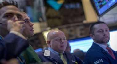 \BUSINESS HITS: Wall Street Terseret Merahnya Sektor Teknologi   \