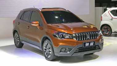 Suzuki S-Cross Facelift Sudah Rilis di China