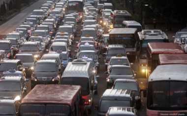 Cegah Kemacetan Arus Balik, Korlantas Polri Berlakukan Sistem Contra Flow