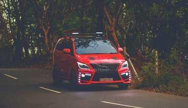 Modifikasi Keren Toyota Innova, Grille-nya Terinspirasi dari Lexus