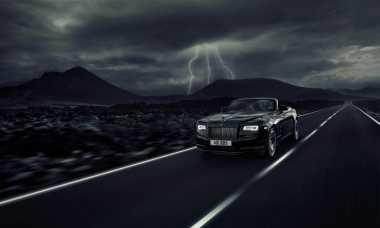 Rolls-Royce Dawn Tampil Garang dengan Baju Serbahitam