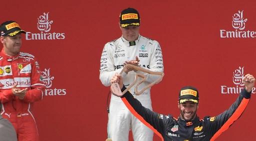 Tahan Serangan Bertubi-tubi dari Vettel, Bottas Sukses Amankan Podium Pertama GP Austria 2017