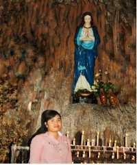 SHARE LOC: Menjelajah Gua Keramat Maria Bitauni di Kefamenanu NTT