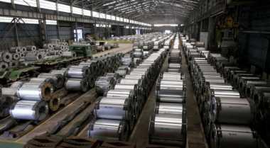 \Akhirnya, Pabrik Krakatau Osaka Steel di Cilegon Resmi Beroperasi!\
