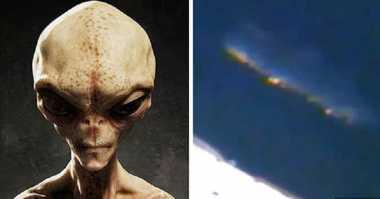 Geger! Induk Kapal Alien Diklaim Berhasil Diabadikan Stasiun Luar Angkasa