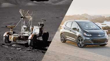 TOP AUTOS: Kendaraan Pertama yang Digunakan di Bulan Hasil Karya Chevrolet