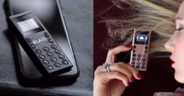 Unik! Tanpa Android, Ponsel Mungil di Dunia Ini Hanya Terkoneksi via Bluetooth