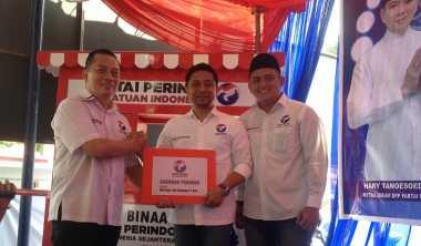 \Konsisten Dukung UMKM, Perindo Sebar Gerobak di 7 Wilayah Sumatera Utara\