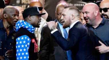 Unggul Pengalaman, Diaz Yakin Mayweather Jr Bungkam McGregor dengan Kemenangan Angka