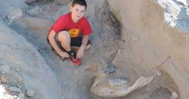 Keren! Temukan Fosil Langka, Anak 9 Tahun Ini Disanjung Ilmuwan