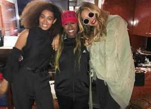 Baru Melahirkan, Beyonce Sudah Nonton Konser Missy Elliot