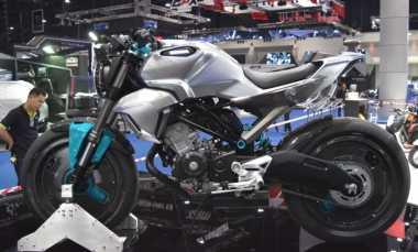 Honda Perlihatkan Versi Produksi 150SS Racer