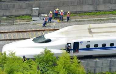 \Garap Kereta Cepat Jakarta-Surabaya, Jepang Masih Pertimbangkan Model Bisnis yang Pas\