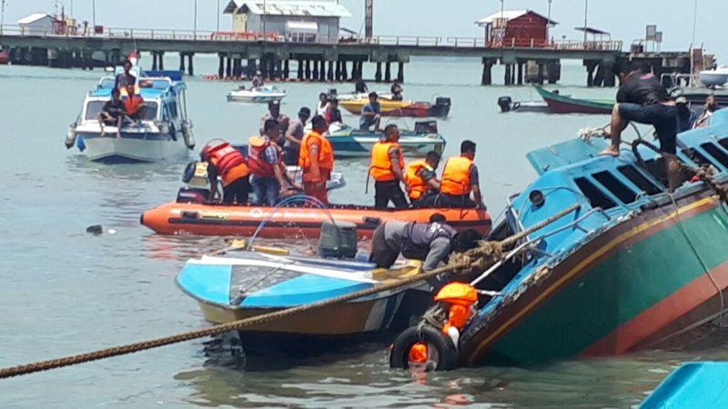 <i>Speed Boat</i> Terbalik, 10 Penumpang Tewas Tenggelam di Perairan Tarakan