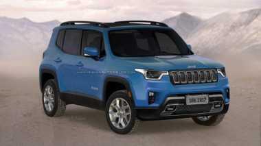 Beginikah Tampang Jeep Renegade yang Baru?