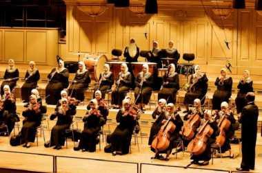 Pertama di Dunia, Grup Orkestra asal Mesir Berhijab dan Tuna Netra