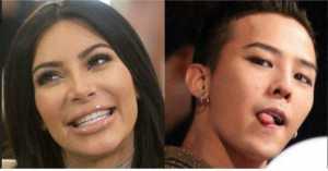 Ternyata Kim Kardashian Suka Lihat G-Dragon Pegang Bokong