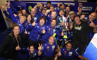 Tampil Tercepat di GP Belanda, Ini Video Kemenangan Rossi