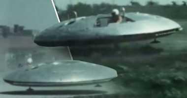 Gokil! Pesawat Ini Dirancang Mirip UFO