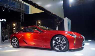 Lexus LC 500 Laris Manis di Indonesia dan Malaysia